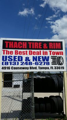 Used Tires Tampa >> Thach Used Tires Tires 4916 Causeway Blvd Tampa Fl Phone