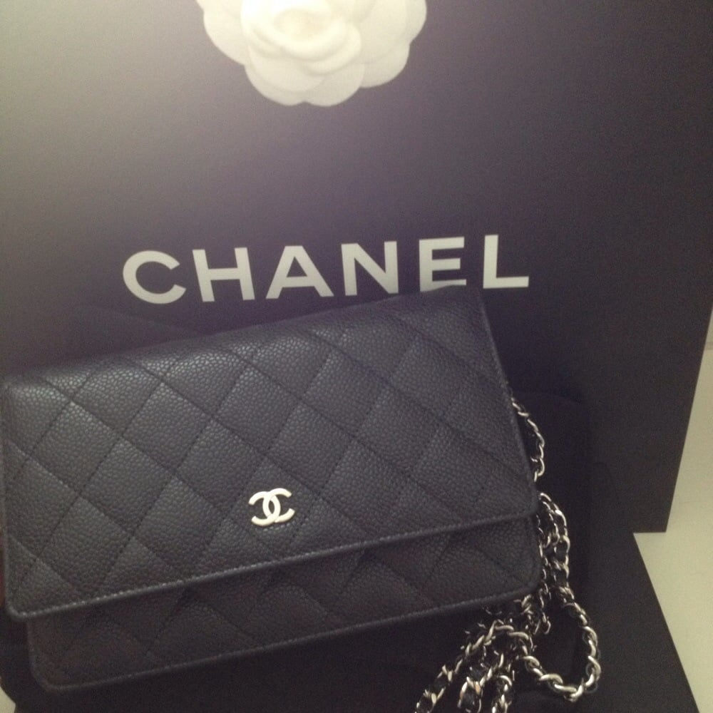 04bf2da4c8d4 Front view. Chanel wallet purse also called wallet on chain (WOC) in ...