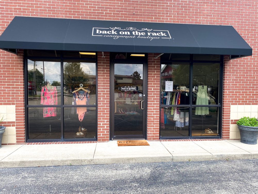 Back On The Rack Consignment Boutique: 1568 E 10th St, Jeffersonville, IN
