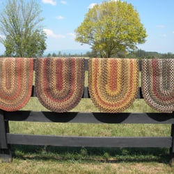 Photo Of Colonial Braided Rug Company Shelby Nc United States Four Examples