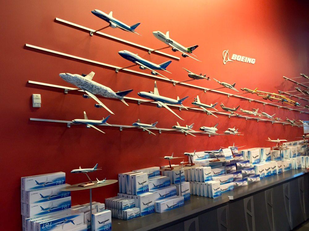 Future of Flight Aviation Center & Boeing Tour: 8415 Paine Field Blvd, Mukilteo, WA