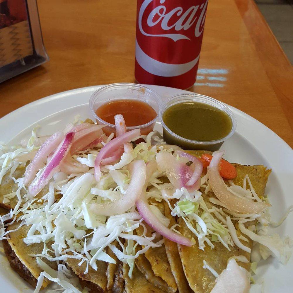 Tacos De Canasta El Atoron: 1713 E Vernon Ave, Los Angeles, CA