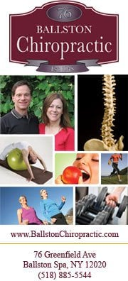Ballston Chiropractic Office: 76 Greenfield Ave, Ballston Spa, NY