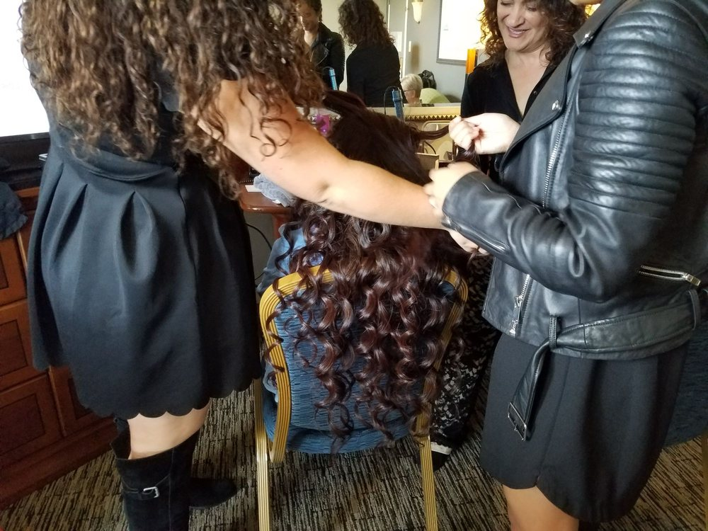 Wedding Hair Unveiled: DC, WA