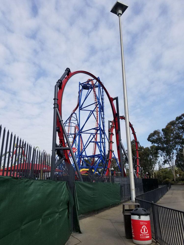 Harley Quinn Crazy Coaster: 1001 Fairgrounds Dr, Vallejo, CA