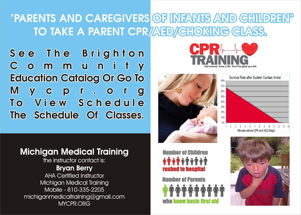 Michigan Medical Training Cpr Aed First Aid Bls Cpr Classes