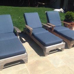 Photo Of Jesennieu0027s Upholstery   Lafayette, CA, United States.  Reupholstered Patio Furniture ...