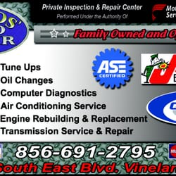 Carlos Auto Repair >> Carlos' Auto Repair - Auto Repair - 1045 SE Blvd, Vineland