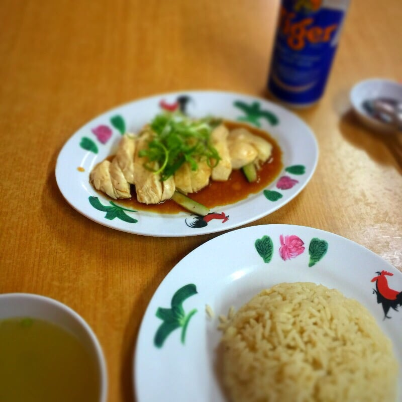 Wee Nam Kee Hainanese Chicken Rice