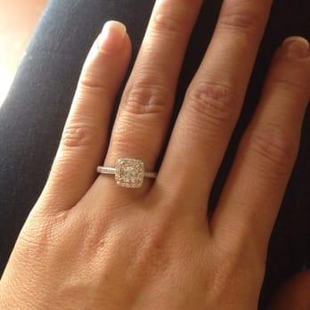 Photo Of Bracken Jewelers Venice Ca United States Enement Ring Halo