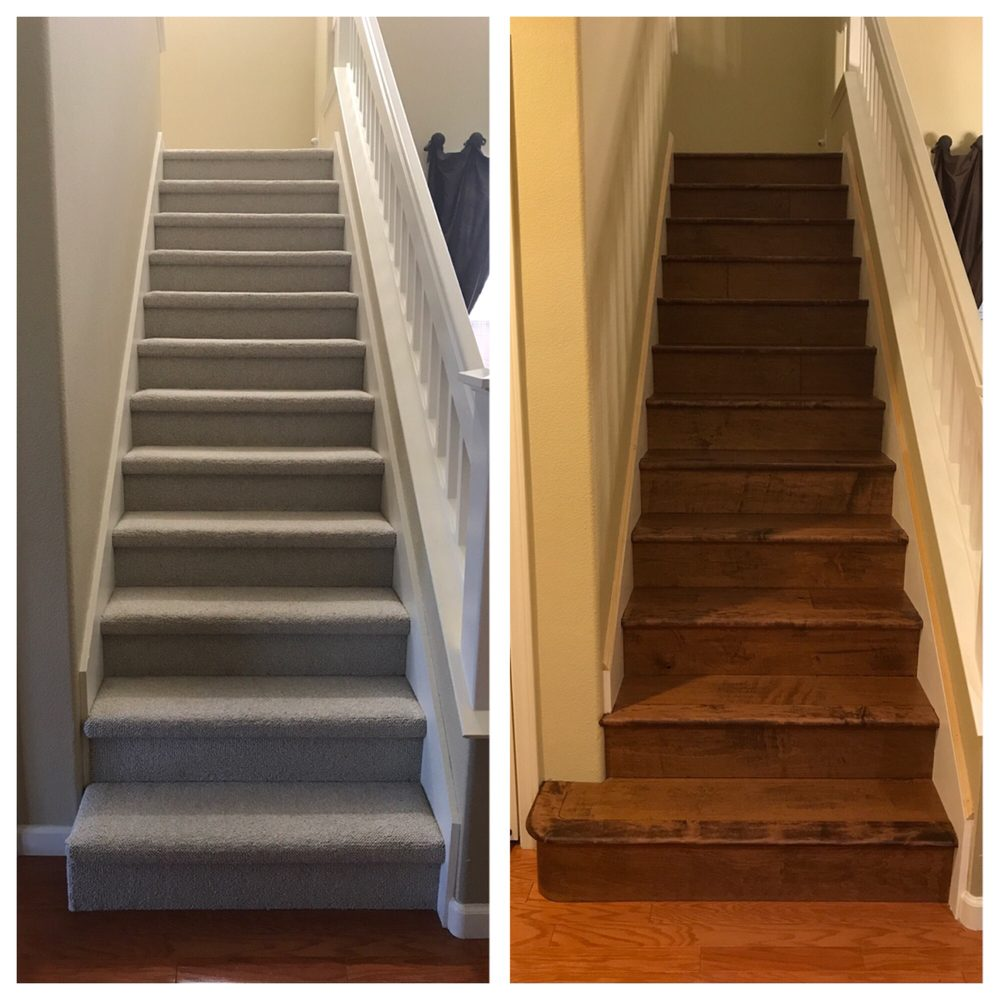 Replaced Carpet With Wood Floors Custom Built Out Of