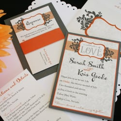 Invitations Ink CLOSED 11 Photos Cards Stationery 1017 L