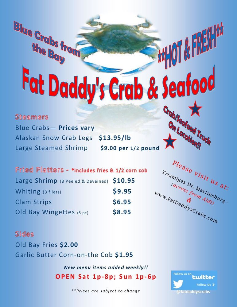 Food from Fat Daddy's Crab & Seafood