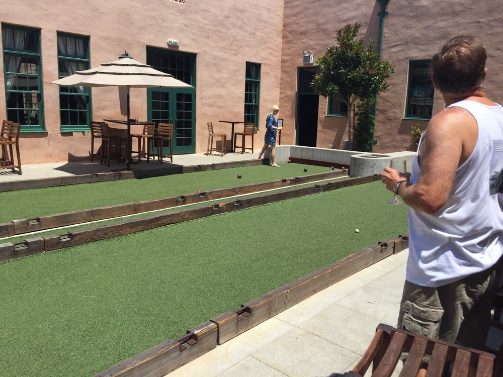 Bocce Courts Game On Yelp