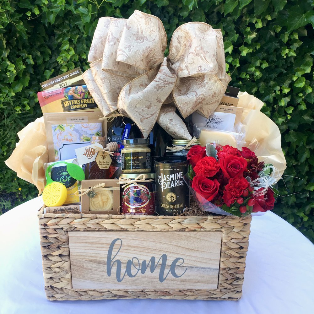 Home Gift Basket Ideas: Real Estate Closing Gift Baskets
