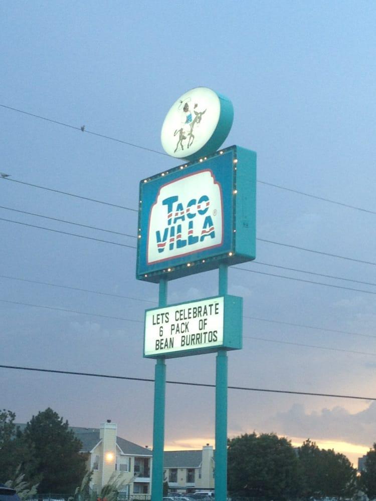 Taco Villa: 6601 Bell, Amarillo, TX