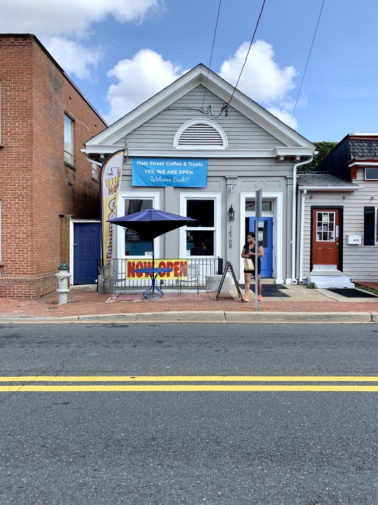 Main Street Coffee and Treats: 14708 Main St, Upper Marlboro, MD