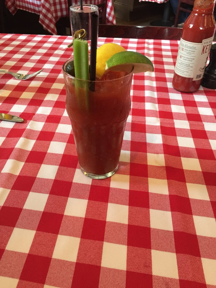 classic spicy bloody marycute table cloth yelp