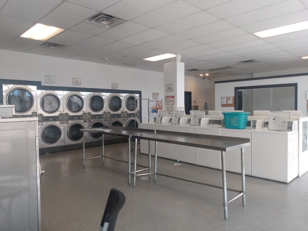 Crystal Clean Laundromat: 429 S Center Ave, New Stanton, PA