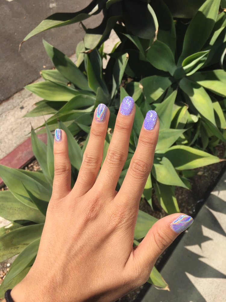 Rockstar and holographic nails! They are to die for! - Yelp