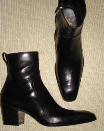 The famous Johnny Boots in Black - Yelp 367814a422f6