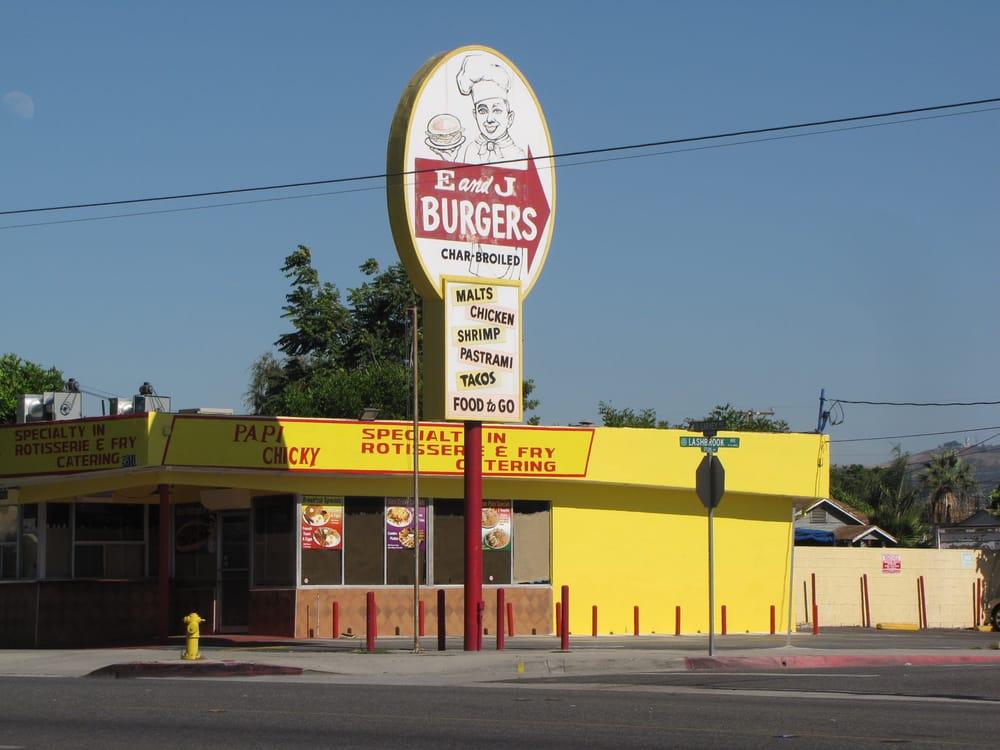 E j burgers closed garvey ave south