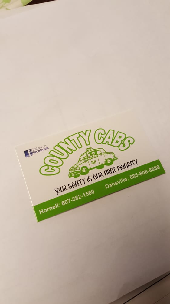 Photo of County Cabs: Hornell, NY