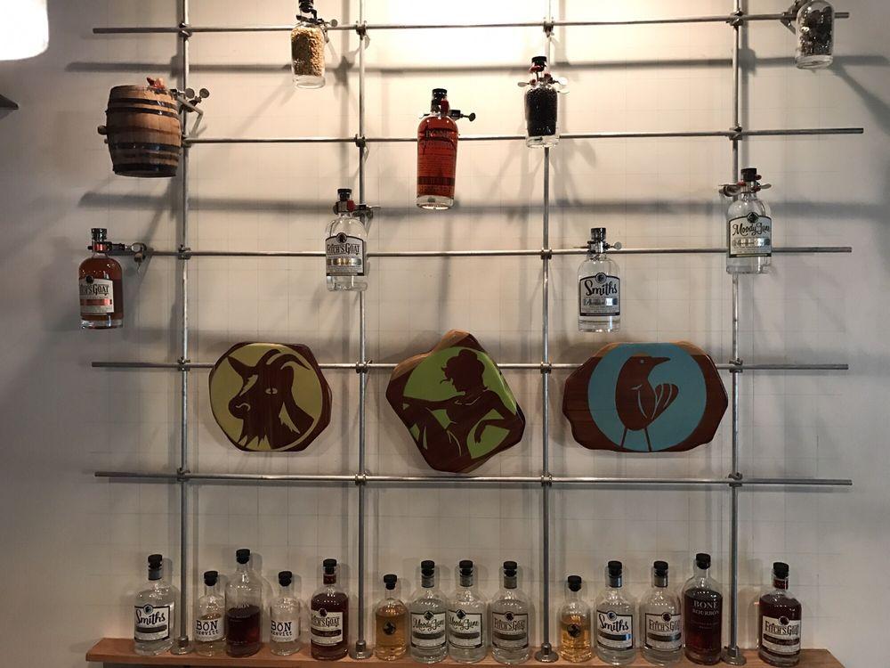 Bone Spirits Distillery: 802 NE 1st St, Smithville, TX