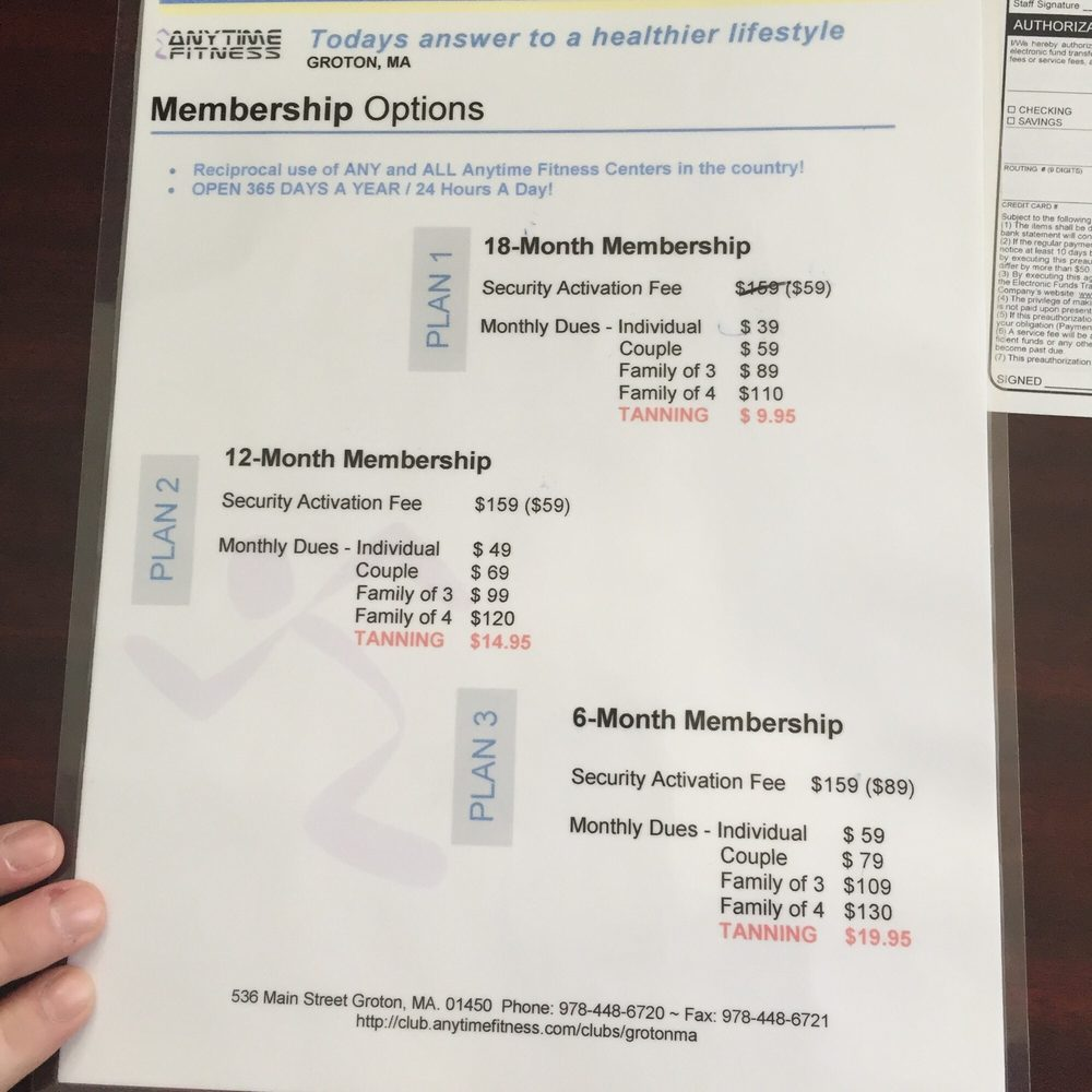 What Are The Monthly Fees For Anytime Fitness - FitnessRetro