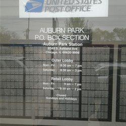 ashland post office hours