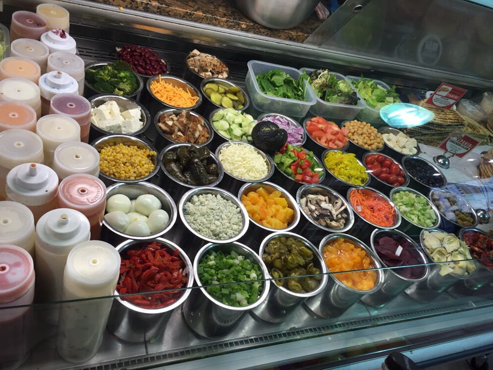 Salad Bar They Always Have Specials U Can A Salad With