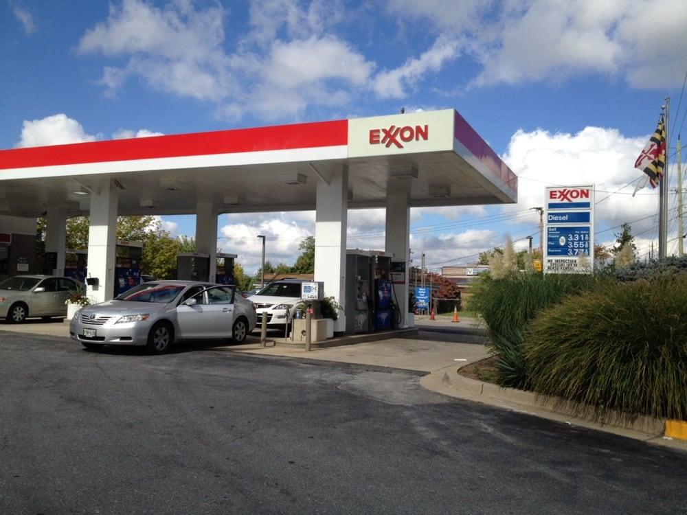 Gaithersburg Exxon Servicenter Gas Stations 408 N Frederick Ave