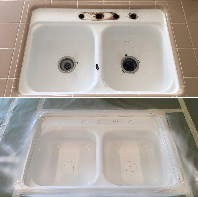 Refinished Kitchen Sink Yelp