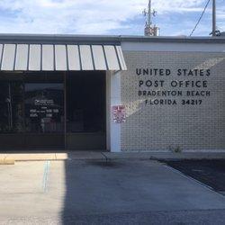 US Post Office Post Offices Bridge St Bradenton Beach FL - Us post office bradenton map