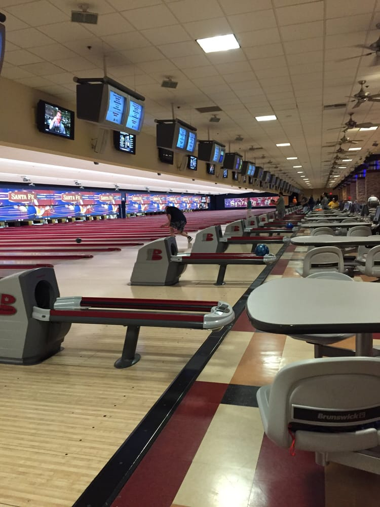 Bowling Center der Santa Fe Station