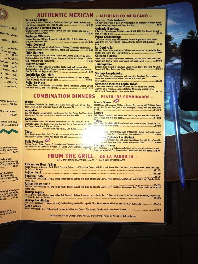 Peraltas Mexican Restaurant: 813 S Main St, Winnsboro, TX