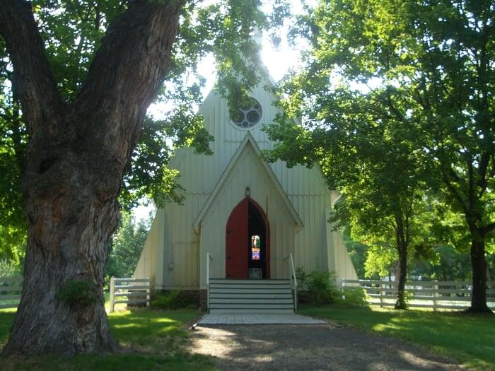 Ascension School Chapel Episcopal Church: 1006 Church, Cove, OR
