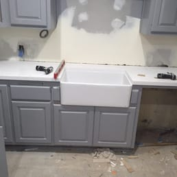 Countertop Dishwasher New Zealand : ... . Countertop with my farmhouse/apron sink and dishwasher on the side