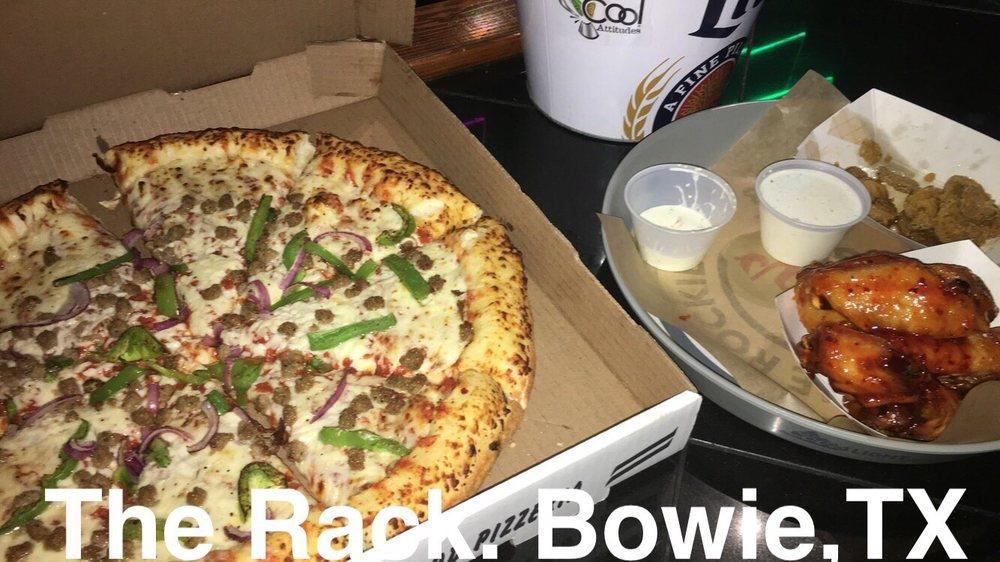 The Rack Pub & Eatery: 210 N Mason St, Bowie, TX
