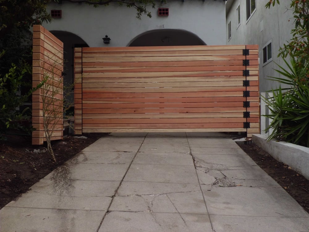 10 Wide Custom Horizontal 1 Quot X4 Quot Redwood Single Swinger