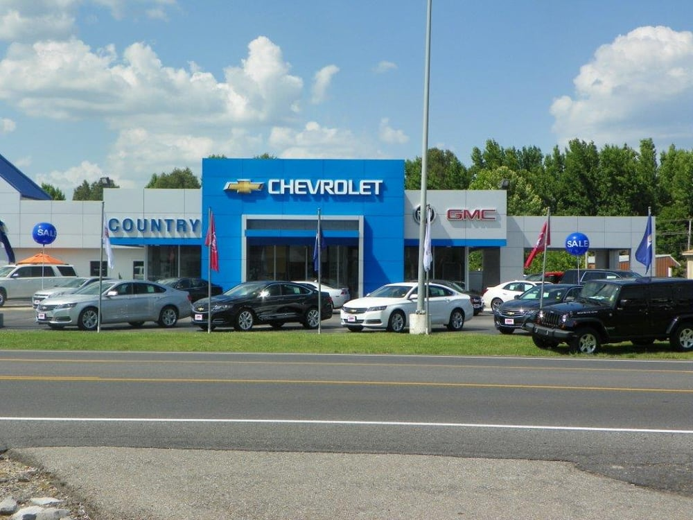 Country Chevrolet Buick Gmc: 104 W 5th St, Benton, KY