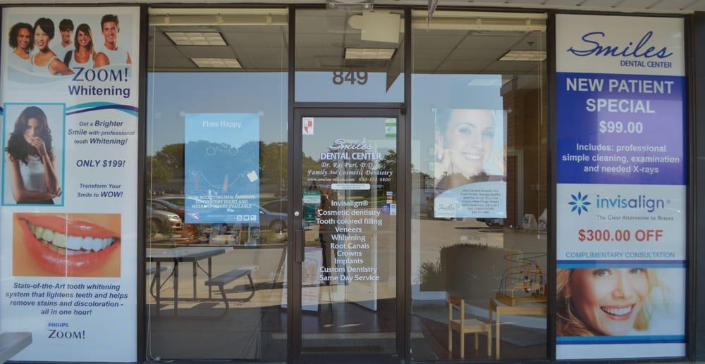 Raj Puri, DDS - Smiles Dental Center: 849 S Rte 59, Bartlett, IL