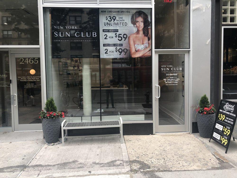 New York Sun Club Tanning & Cryotherapy: 2465 Broadway, New York, NY