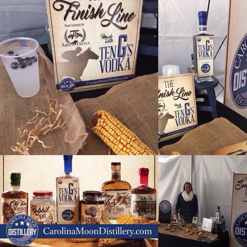 Carolina Moon Distillery: 116 Courthouse Square, Edgefield, SC
