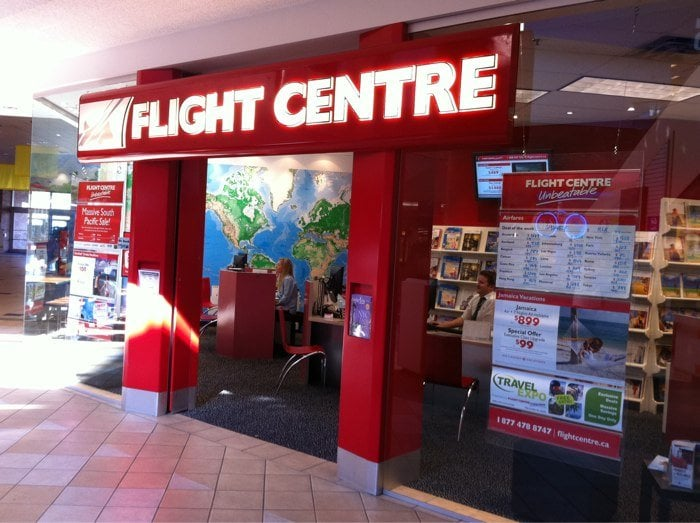 Flight Centre - Travel Services - 3170 Tillicum Rd, Saanich