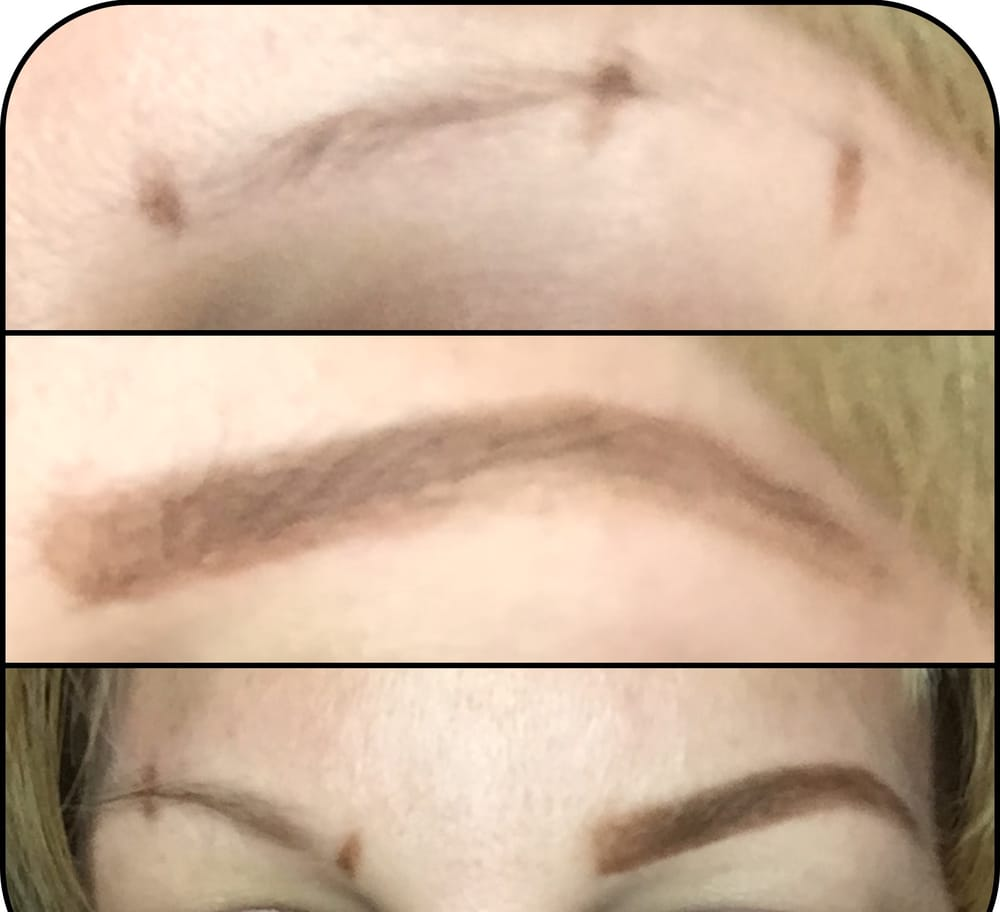 Brow Mapping and waxing! Before/After - Yelp