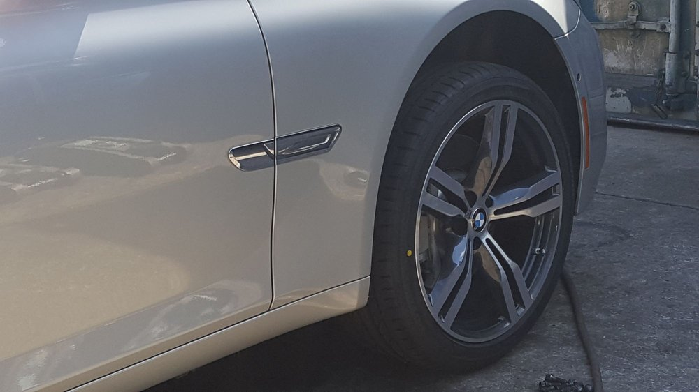 These Are Rims From A 40 BMW 40LI The Lug Pattern 40x1140 Mm From Simple Bmw Lug Pattern