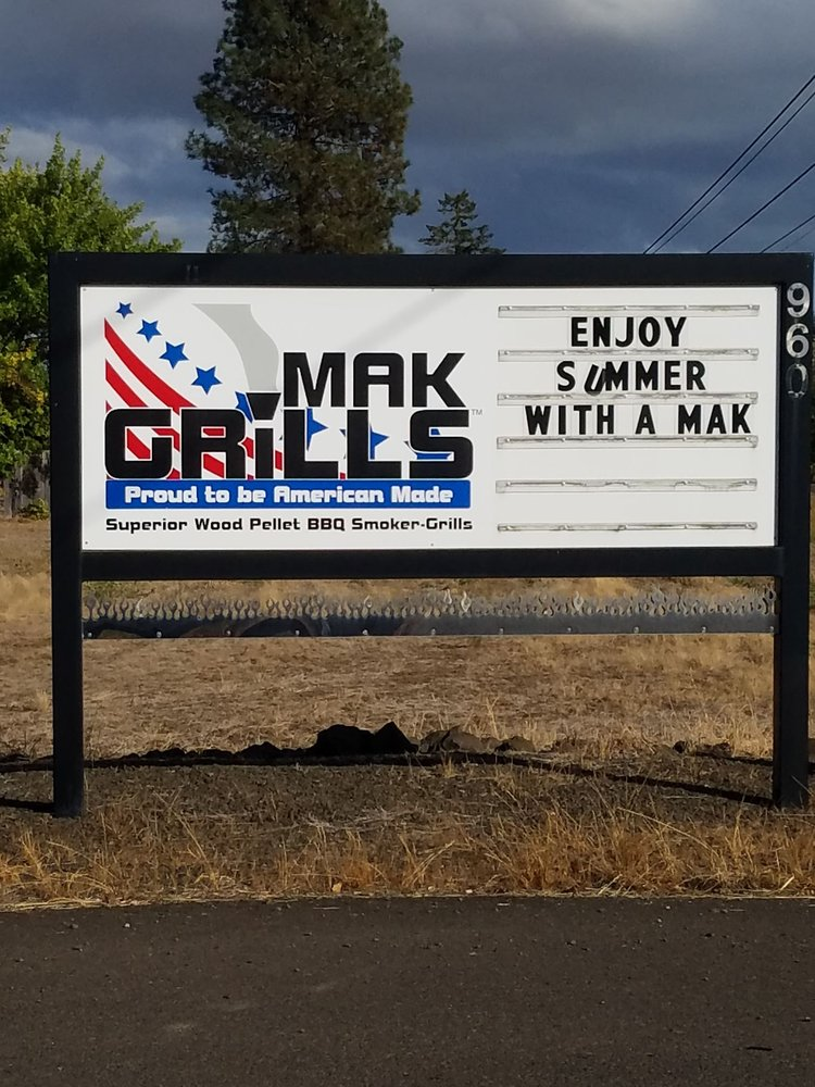 Mak Grills Grilling Equipment 960 Se Monmouth Cut Off Rd Dallas Or Phone Number Yelp
