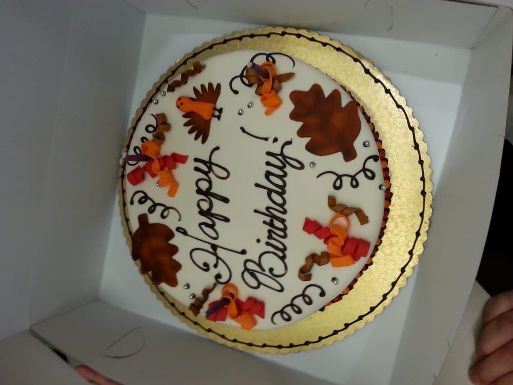 Monthly Birthday Cake For Work November Birthdays Yelp