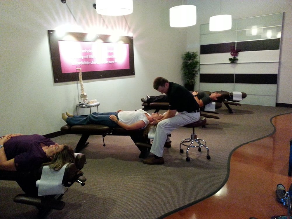 Our Patients Getting Adjustments With Dr Arriens